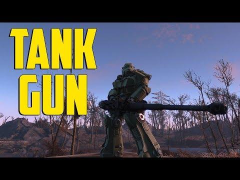 Fallout 4 - Tank Gun