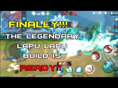Legendary Lapu Lapu Build!!!  (Unfortunately) Fully Commented !!!!