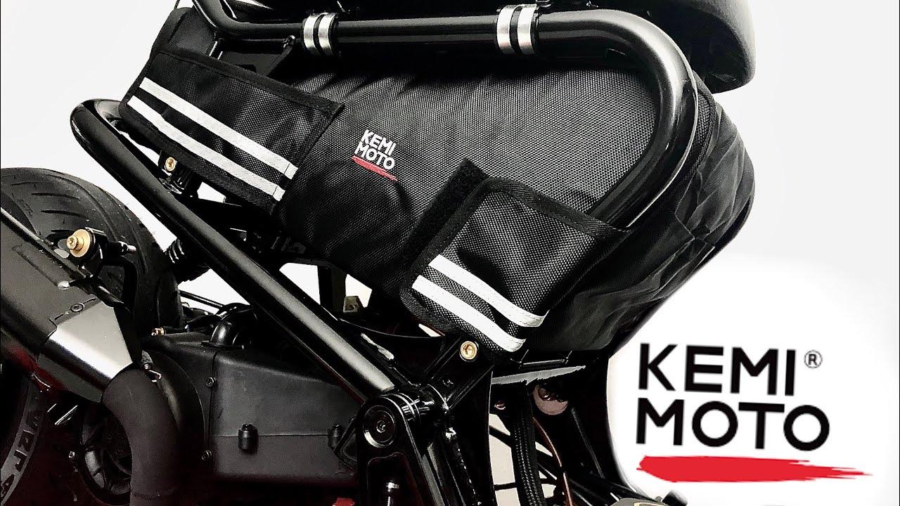 KEMIMOTO Honda Ruckus Underseat Bag Review