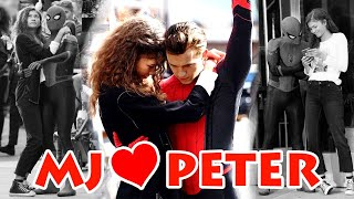 MJ & Peter - the most AWKWARD Couple   All MJ & Peter scenes from Spiderman Far From Home