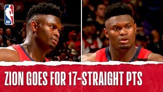 Download Zion Williamson Goes OFF for 17 STRAIGHT POINTS In NBA Debut!! Mp3 and Videos