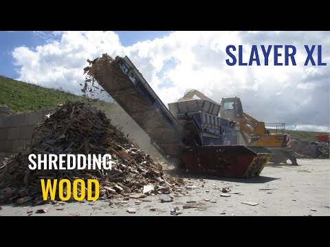 EDGE Slayer XL shredding Wood