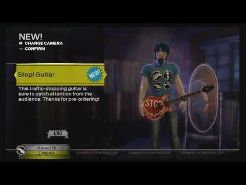 Unlock Rock Band 3 (Cheats) Pre-Order Guitars HD