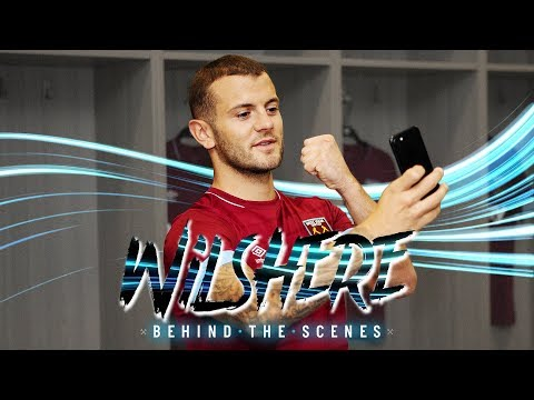 JACK WILSHERE SIGNS FOR WEST HAM   BEHIND THE SCENES