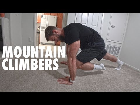 How to Perform Mountain Climbers | Bodyweight Core Exercise Tutorial