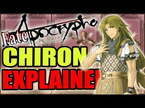 Archer of Black: CHIRON EXPLAINED - Fate Apocrypha   Past & Abilities / Noble Phantasms