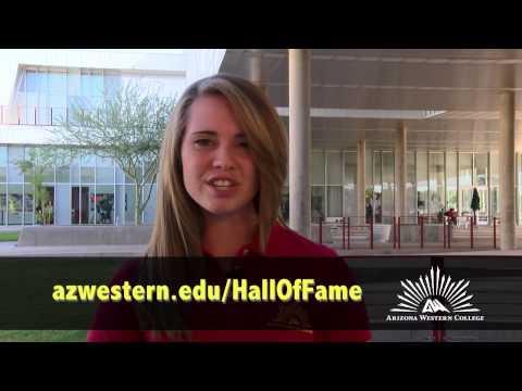 Arizona Western College Hall of Fame Wall