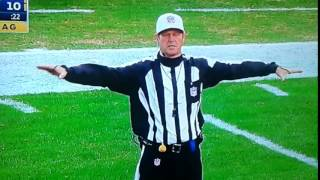 """Referee During Eagles vs Ravens Game Appears To Call Pass Interference """"On The White Guy"""""""
