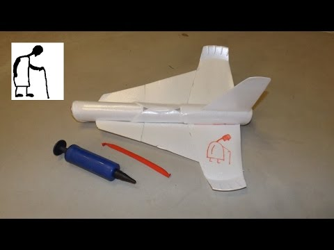 Simple Balloon Powered Plane - Third Attempt 'Success-ish'