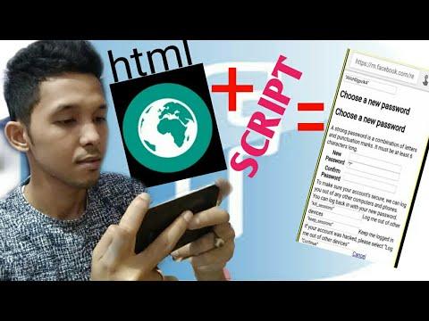 Pembuktian : Penggunaan Html ,script, Dan Facebook, Kebenarannya Not Work