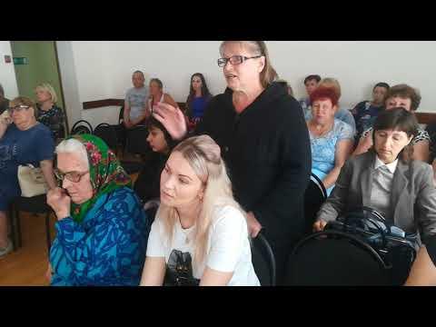 Встреча жителей аварийных домов с АДминистрацией года Абдулино №3