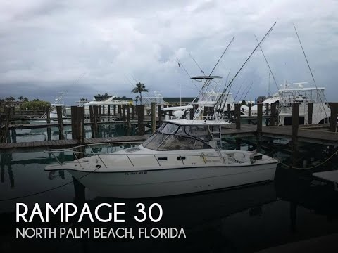Used 2005 Rampage 30 for sale in North Palm Beach, Florida