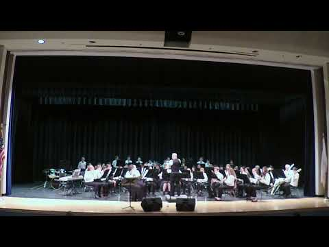 Pirates of the Caribbean performed by the Westerly Middle School Concert Band