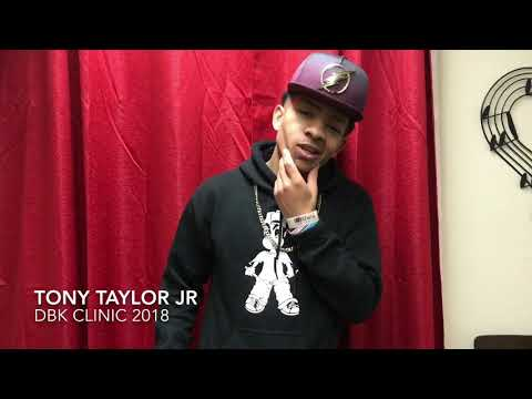 Tony Taylor Jr Interview DBK 2018