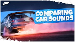 Horizon 5 - Comparing Car Sounds From FH4..
