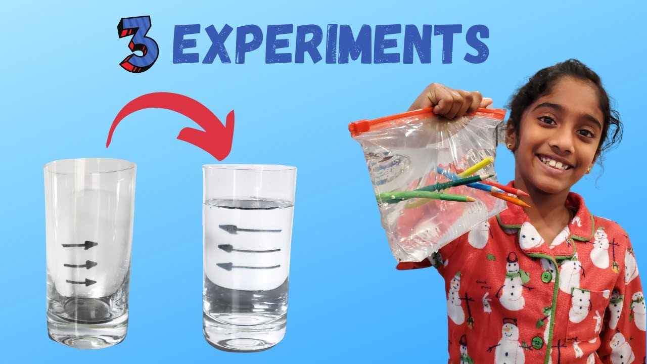 Download EASY DIY SCIENCE EXPERIMENTS FOR KIDS TO DO AT HOME | AMAZING WATER EXPERIMENTS & TRICKS