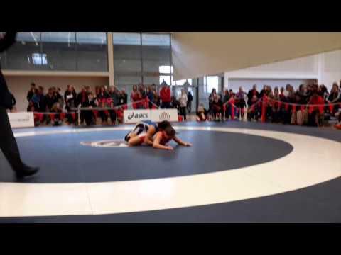 2015 Senior National Championships: 69 kg Kelsie Marusak vs. Olivia DiBacco