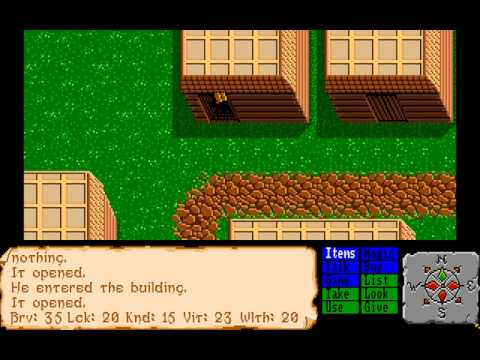 Faery Tale Adventure, Amiga - Part 1 - Overlooked Oldies