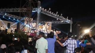 Raftaar in tit Collage BHOPAL performance song