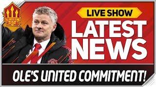 SOLSKJAER'S MAN UTD JOB HINT! Man Utd News Now