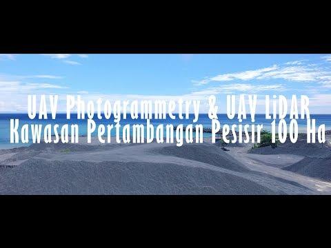 [HSG Survey & Mapping] UAV Photogrammetry & UAV LiDAR Kawasan Pertambangan Pesisir 100 Ha
