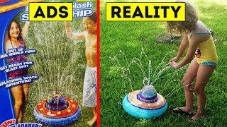 Ads Vs. Reality - Where Kids Dreams Are Crushed