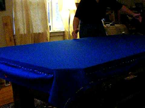 Pool Table Installation Part 11 Stretching The Felt Final Mpeg2video