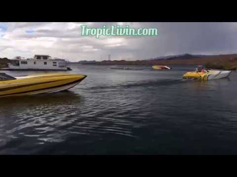 Monster Bash Lake Havasu Poker Run, Parker Strip Colorado River Vacation Desert Storm 2015