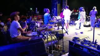 Gocay Steven And Coconuttreez Drum Cam - Anak Pantai Imanez Cover Live Bangka