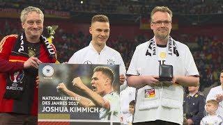 Fantastic Moment: Joshua Kimmich als Nationalspieler des Jahres geehrt