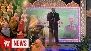 What did Dr Zakir Naik say in Kelantan?
