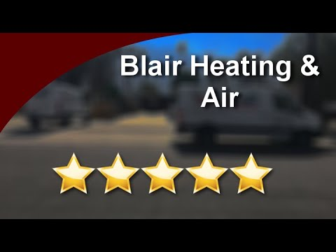 Blair Heating & Air Palm Springs  Impressive  Five Star Review by wallace skok