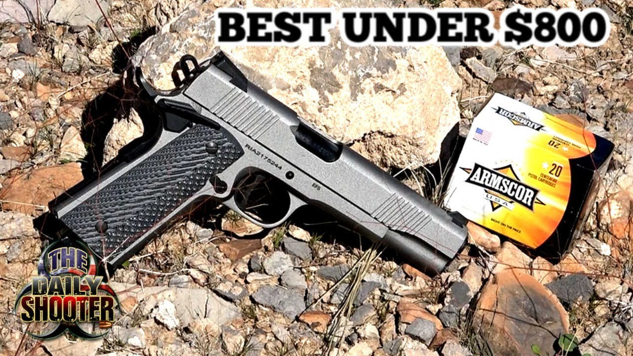 Rock Island Armory EFS 1911 with Grey Cerakote Review