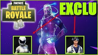[EXCLUDEd] NEW SKIN (GALAXY,MOTARDE BLANCHE,MAITRE SUSHI - EMOTE RARE)on FORTNITE BATTLE ROYALE