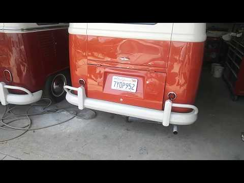 Lowering your VW bus the fast and easy way or extreme lowering