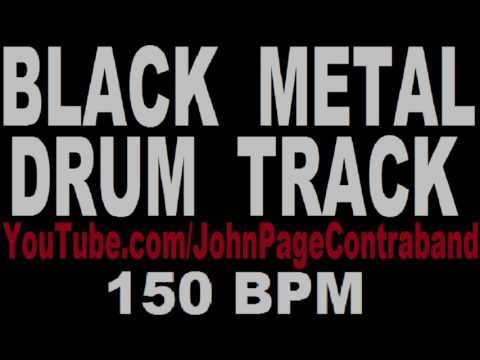 Black Metal Drum Backing Track 150 Bpm DRUMS ONLY Free