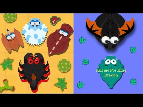 MOPE.IO / GIANT SCORPION KILLED ICE MONSTER / I FEED A BLACK DRAGON & HE BECOME KING DRAGON