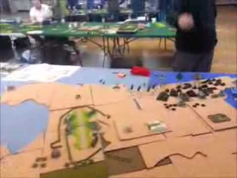 Dystopian Wars Battle Report - 24 Hour Game Played Sat 15th Febuary 2014 to Sun 16th