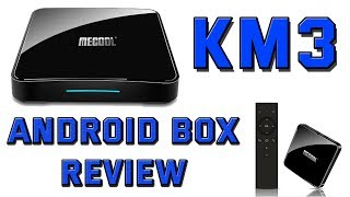 MeCool KM3 Android TV Box Review     Android 9.0