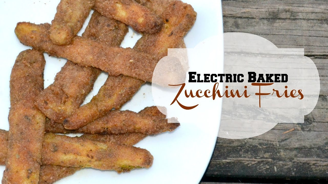 ALKALINE ELECTRIC BAKED ZUCCHINI FRIES | THE ELECTRIC CUPBOARD