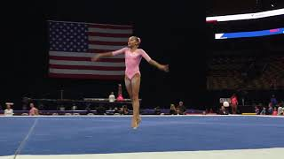 Zoe Gravier – Floor Exercise – 2018 U.S. Gymnastics Championships – Junior Women Day 2