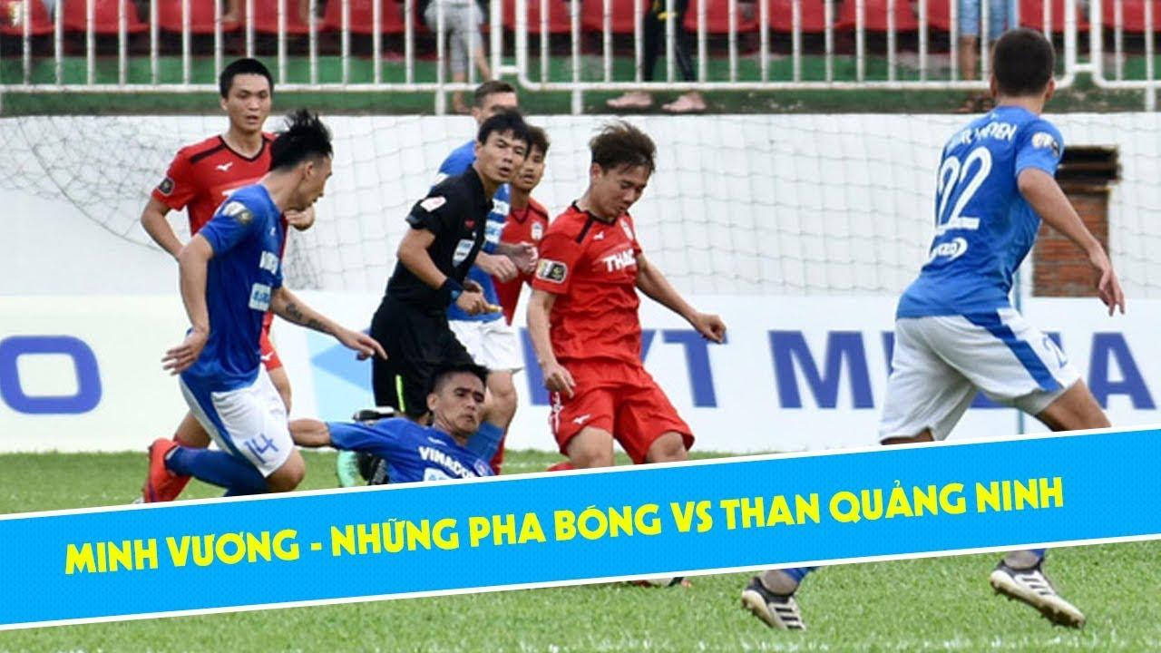 Minh Vương và những pha bóng qua người cực dị trong chiến thắng trước Than Quảng Ninh | HAGL Media