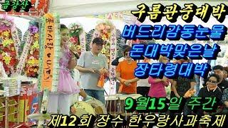 💗 버드리💗 9월15일 주간 제12회 장수 한우랑 사과랑 축제 초청 공연