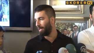 Arda Turan - Transfer Haberlerine Açıklık Getirdi.. (09.06.2014)