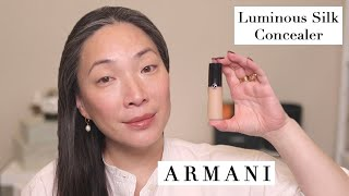 ARMANI - NEW Luminous Silk Concealer Wear Test