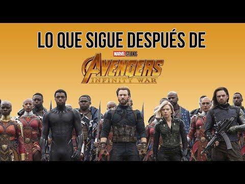 Lo que sigue después de 'Avengers: Infinity War'