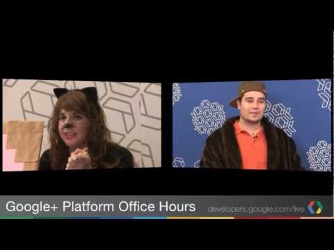 Google+ Platform Office Hours: A Showcase of Community Development