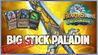 Big Stick Paladin   Extended Gameplay   Hearthstone   The Witchwood