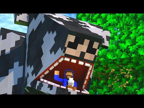 Dentro da vaca | A SAGA DA VACA #1 Survivalcraft 2.1