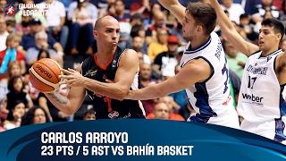 Carlos Arroyo 23 PTS / 5 AST vs Bahía Basket - Grupo D - DIRECTV Liga de las Americas 2017